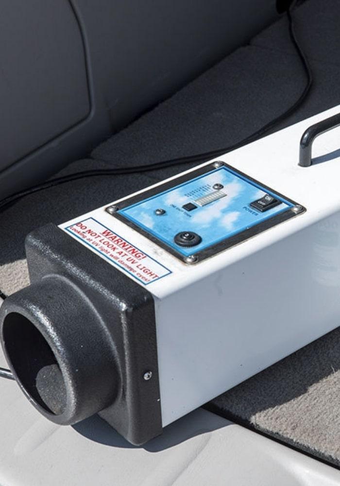 car odor removal